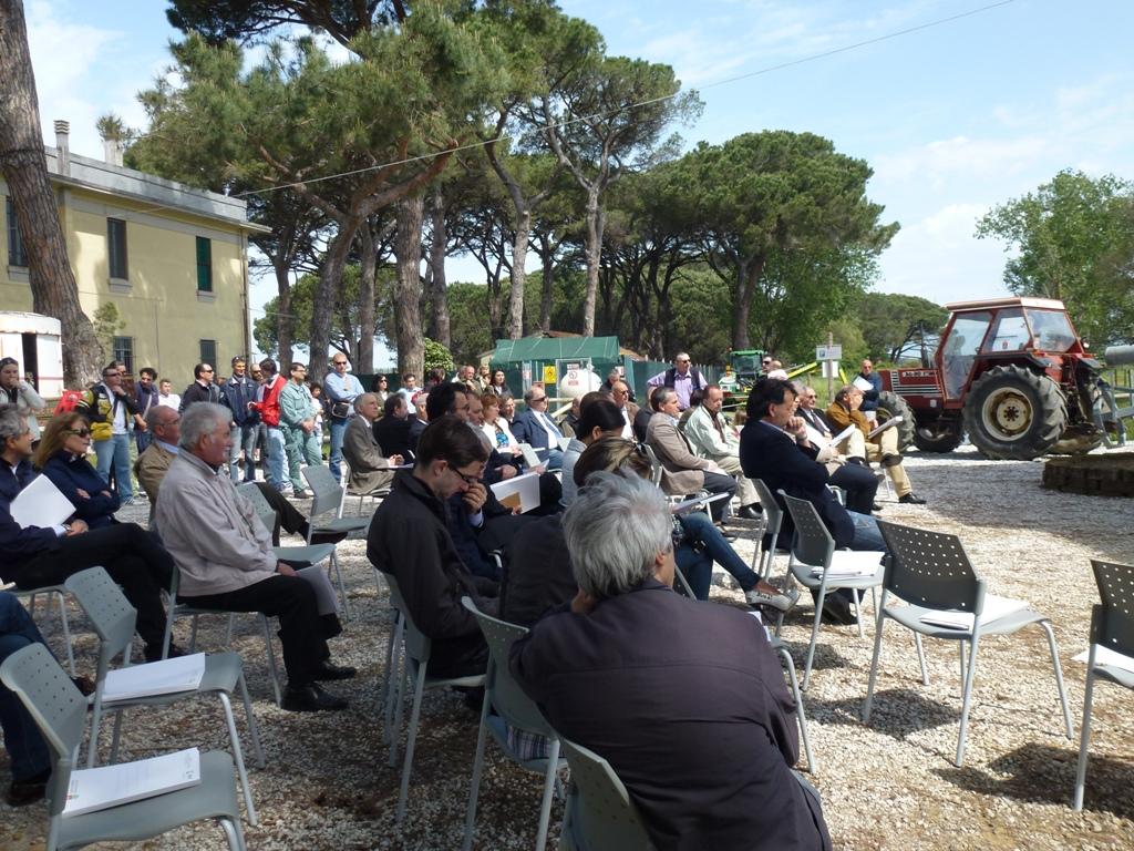 Inaugurazione parco della bonifica 19.05.2012