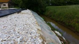 Dewatering_acqua drenata torna nel canale