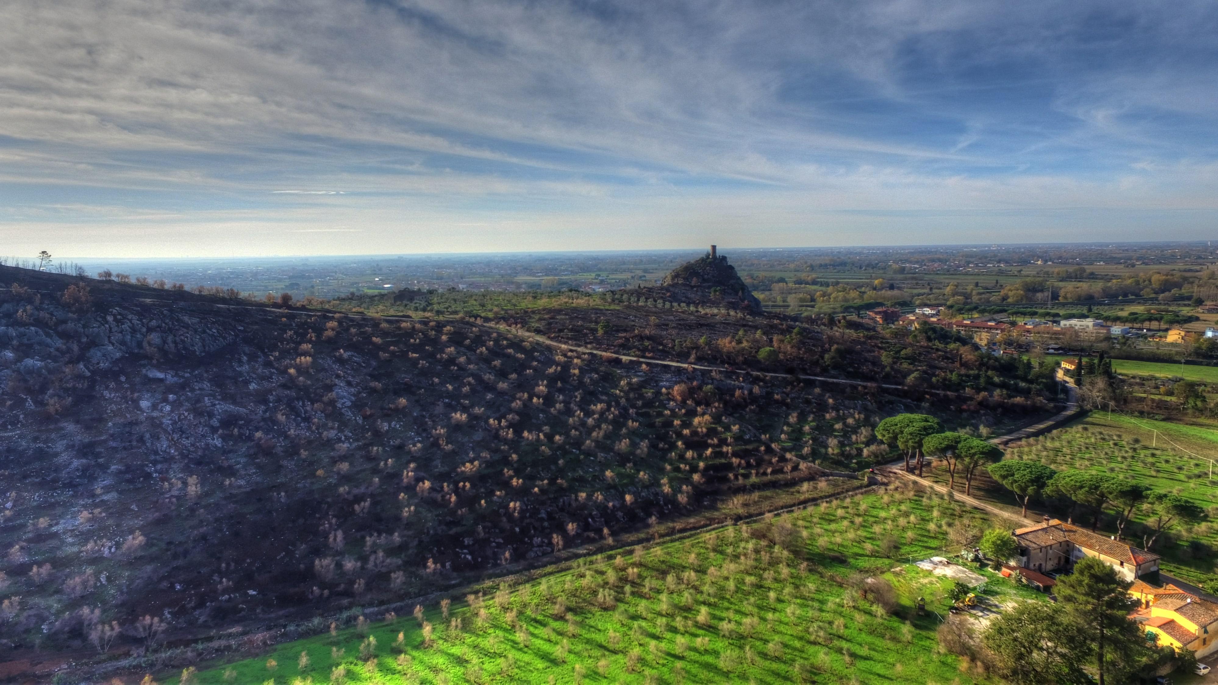 foto del volo Crespignano – Calci – novembre 2018