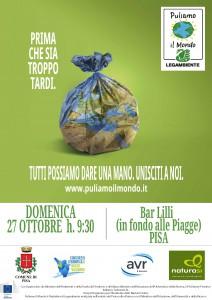 Locandina Pisa 27 ottobre 2019